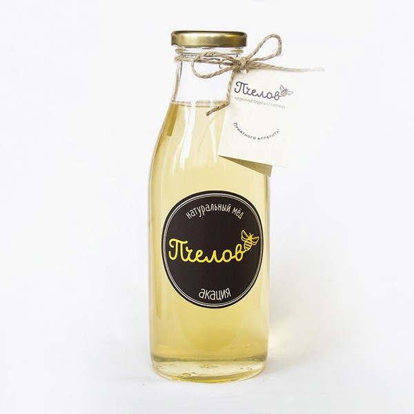 Акациевый мёд, 700 гр.