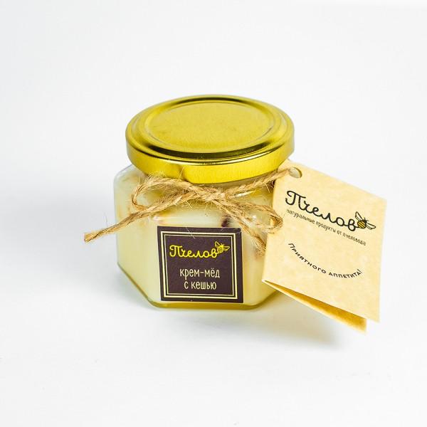 Крем-мёд с кешью, 170гр.