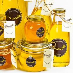 Мёд в банках и бутылках