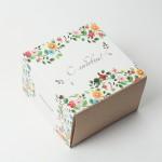 Баночка свадебная  в коробке, 100мл